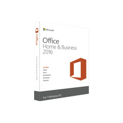 Microsoft Office 2016 Home and Business DK PKC