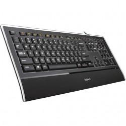Logitech Illuminated K740 keyboard USB - Nordic