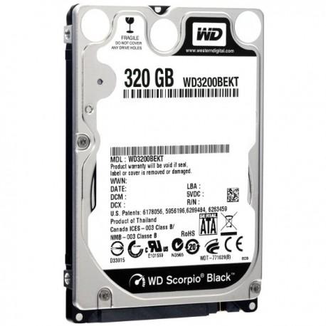"""Assorterede 320 GB 2.5"""" Harddiske"""