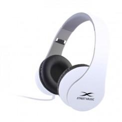 Headphones Street Music hvid