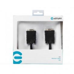 eSTUFF Monitor Cable VGA 2M