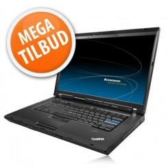 Lenovo ThinkPad R500 m. dock og mus