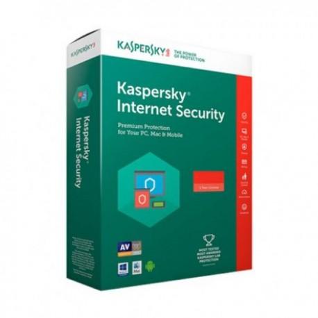 Kaspersky Internet Security 2018 Multi-Device - 3 Bruger Licens