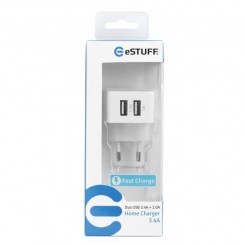 Home Charger Duo USB 2,4A + 1,0A