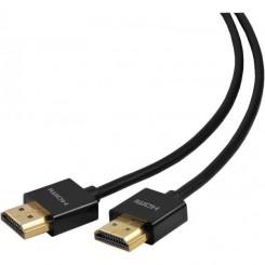 eSTUFF HDMI - HDMI Super Slim Male to Male, 1,8m Black