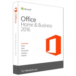 Microsoft Office Home & Business 2016 - DK