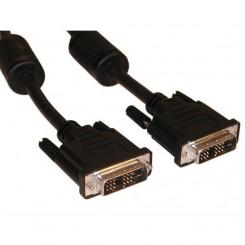 Logilink DVI-D kabel double shielded 5M