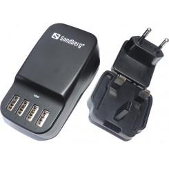 Sandberg 4in1 USB Oplader