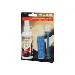 3 i 1 rensesæt - væske, antistatisk, klud og børste