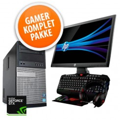 Dell Optiplex 7010 Gaming Komplet sæt