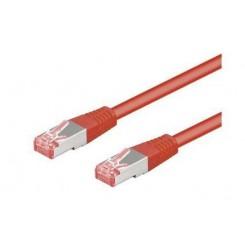 Netværkskabel - Rød - 0.5 m