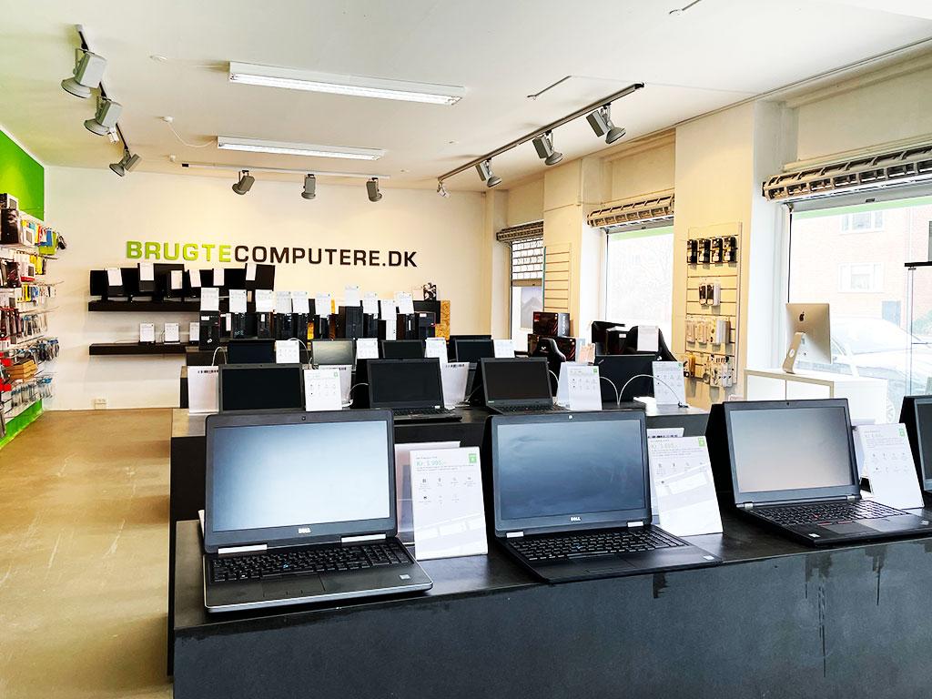 Brugtecomputere.dk butik